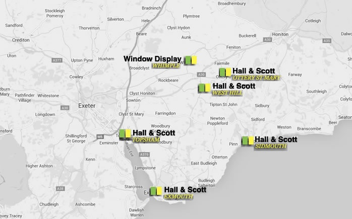 houses for sale in Topsham, Ottery St Mary, West Hill, Exeter - Hall and Scott Estate Agents